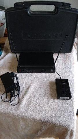 Kit Transmissor e monitor de palco - Foto 4