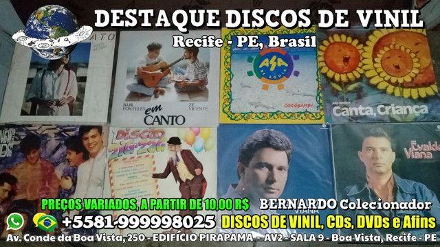 Varios Discos de Vinil CDs e DVDs, Preços Variados - Foto 6