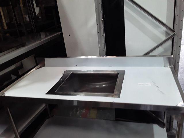 Bancada com pia ixo 1.50x0.70 - Foto 2
