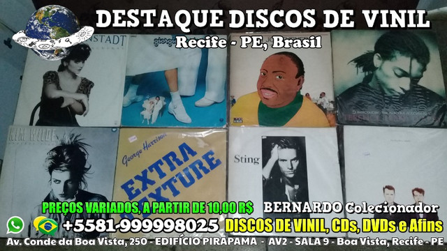 Destaque Discos de Vinil, CDs e DVDs - Boa Vista, Recife PE - Foto 4