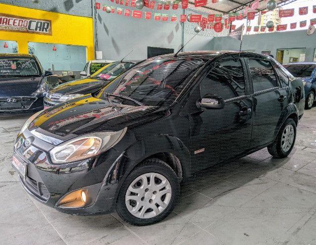 Fiesta Sedan 1.6 2012 É Na Macedo Car!!! - Foto 2