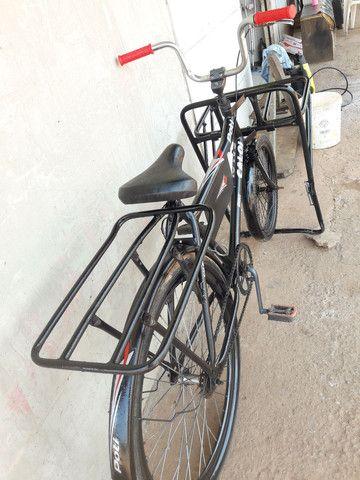 Vendo essa linda bicicleta cargueira 350 entrego.  - Foto 2