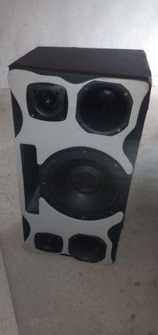 Caixa falante de 12 mais 2 modulo tudo 500 reais