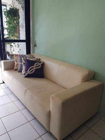 Sofá em couro - 4 lugares  - Foto 2