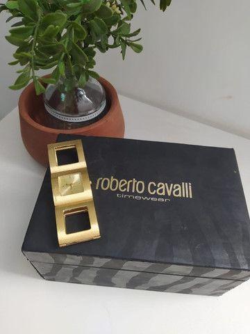 Relógio Roberto Cavalli Feminino Dourado