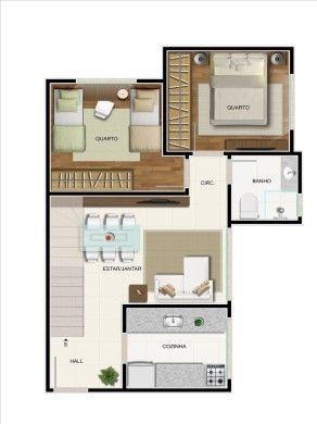 Cobertura à venda com 2 dormitórios em Colégio batista, Belo horizonte cod:18724