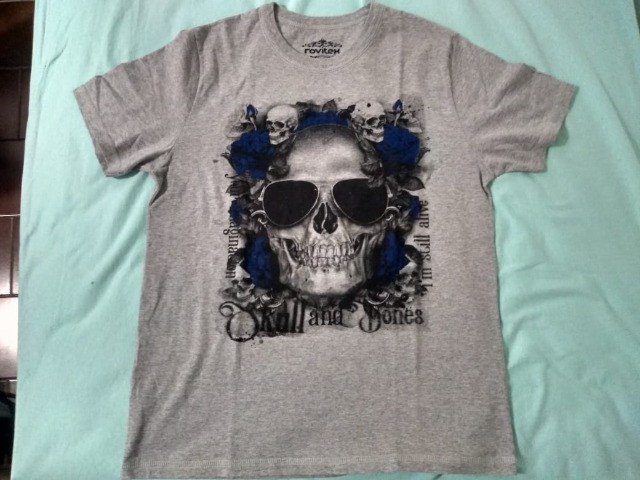 Kit 4 camisas masculinas