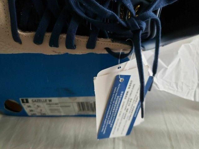 Tênis Adidas Gazelle W Original Novo Tamanho 36 - Foto 4