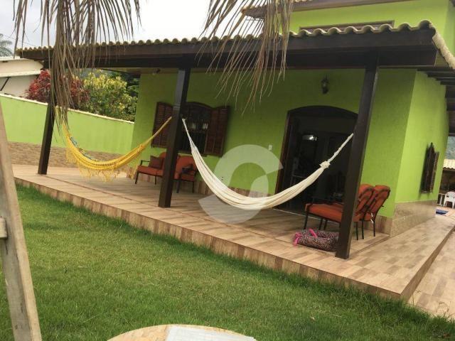 Casa com 3 dormitórios à venda por R$ 400.000,00 - Jacaroá - Maricá/RJ - Foto 4