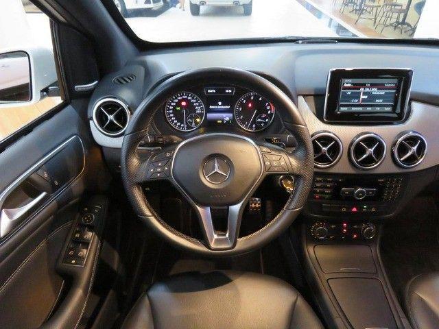 Mercedes-Benz B 200 1.6 Sport Turbo Aut Blindagem III-A Top de Linha C/ Paddle Shift - Foto 9