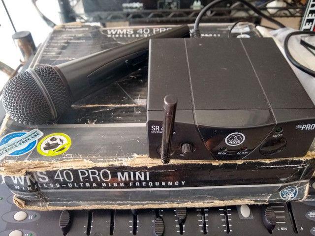 Microfone sem Fio AKG SR 40 - Foto 2