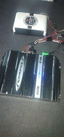 Caixa falante de 12 mais 2 modulo tudo 500 reais  - Foto 4