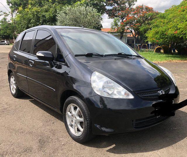Honda / Fit 1.5 Ex 2007 Completo + Automático 26.900 - Foto 3