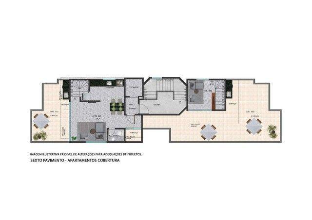 Apartamento à venda com 2 dormitórios em Serra, Belo horizonte cod:701027 - Foto 5
