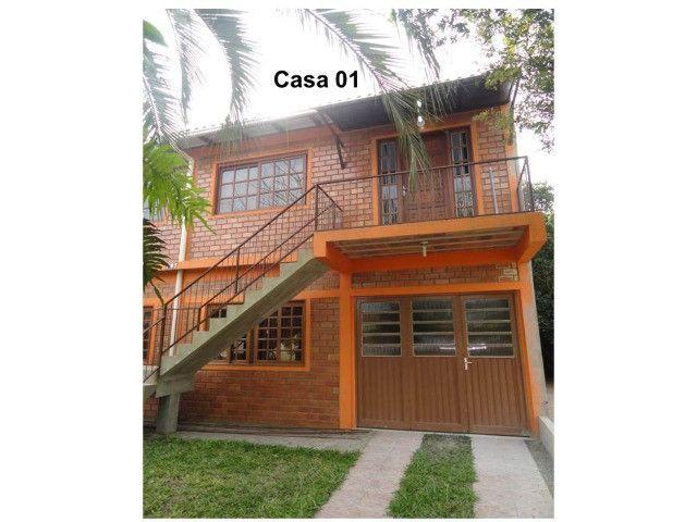 Aluga-se casa para veraneio em Arambaré 01 quadra da praia - Foto 13