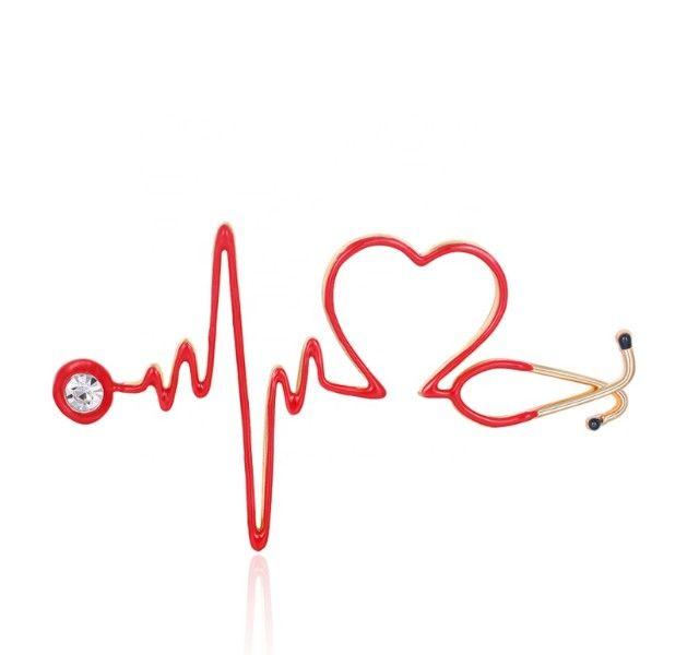 Broche Presente Lembrancinha para Enfermagem Enfermeiras Medicas