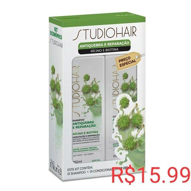 Promoção kit shampoo e condicionador R$ 10 - Foto 2