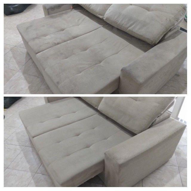 Sofá SUJO ??? Limpeza de sofá !!! - Foto 2