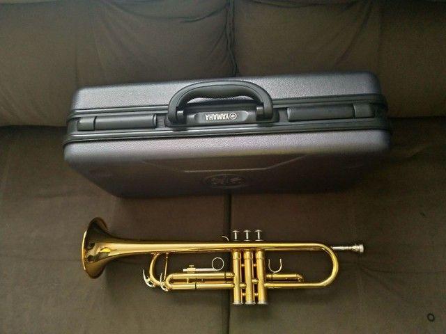 Trompete Yamaha - Ytr AD 200 - Foto 4