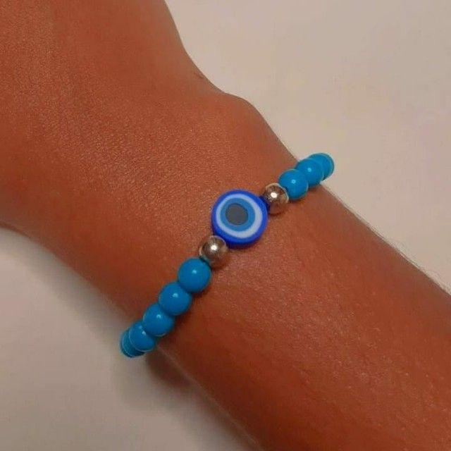 Pulseiras personalizadas para vender feitas a mão nosso instragam: ju_pulseiras  - Foto 4