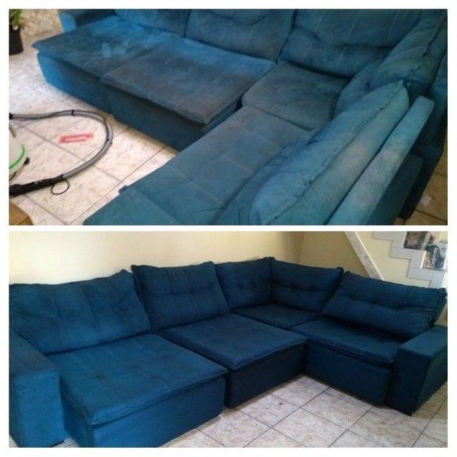 Sofá com MAL CHEIRO ??? Limpeza de sofá !!! - Foto 5