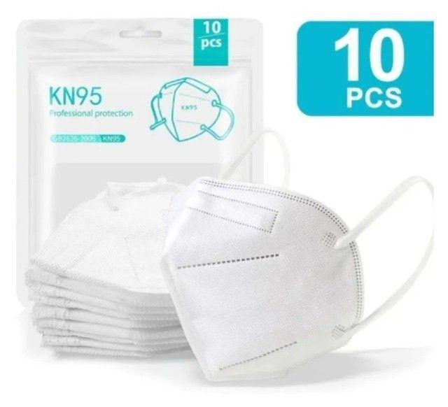 Máscara N95 Ffp2 Kn95 - Pacote Com 10 Unidades - Foto 2