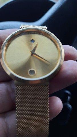Relógio suiço banhado a ouro,VENDO OU TROCO