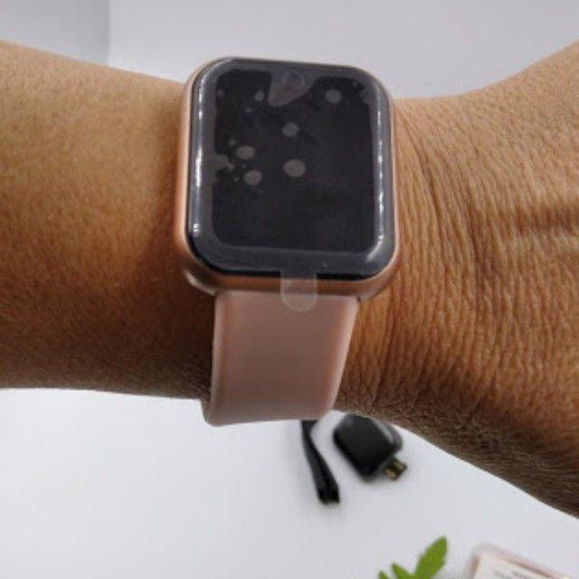 Relógio smart marca D20, Y68, V6 - Foto 2
