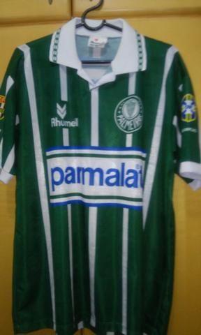 Camisa do Palmeiras - Parmalat - 1994 - Evair
