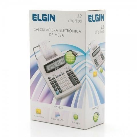 Calculadora Elgin de Mesa MA 5121 com Bobina