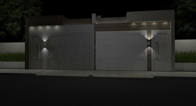 Venda de Imóvel Novo - Casa com três quartos no Loteamento Acquaville em Santana