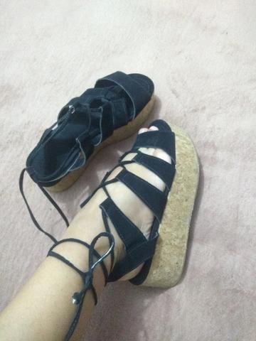 Sapato de cortiça