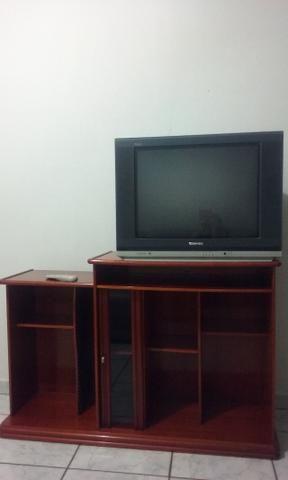Rack mogno de madeira / retrô para sala com TV 29