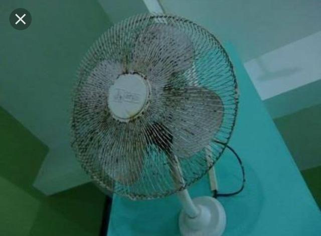 Limpeza de ventiladores