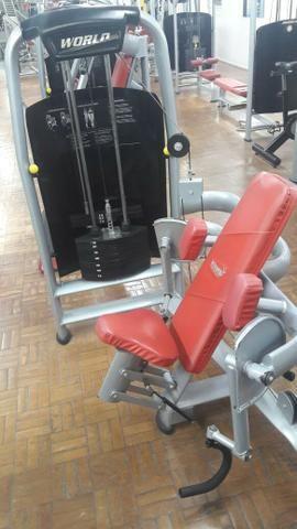 Equipamentos de musculação - Excelente estado