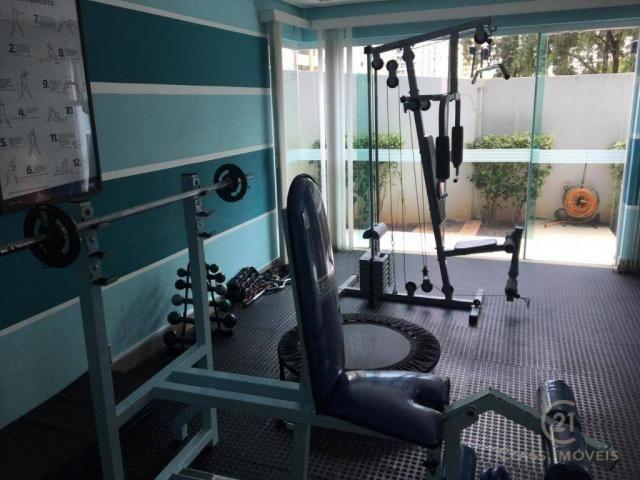 Apartamento com 3 dormitórios à venda, 83 m² por r$ 398.000,00 - gleba palhano - londrina/ - Foto 17