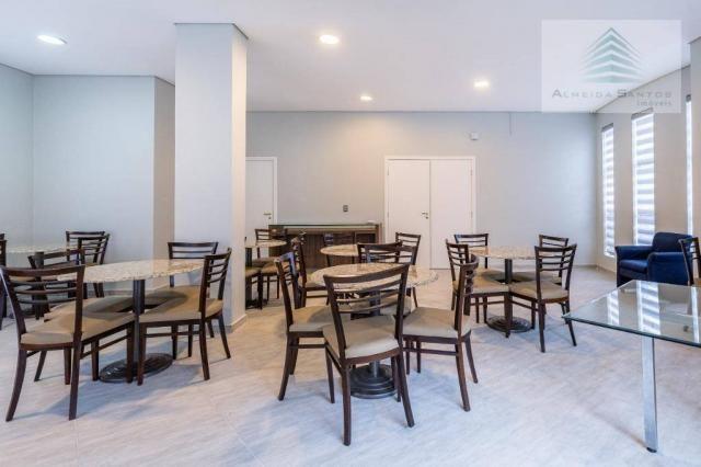 Apartamento com 3 dormitórios à venda, 129 m² por r$ 800.000 - batel - curitiba/pr - Foto 19
