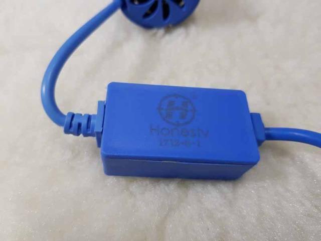 Lampada LED Farol H4 4100LM de potencia 36W com Cooler (Uma Unidade/Moto) - Foto 8