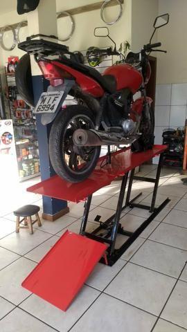 Elevador para motos 350 kg - Fabrica 24h zap - Foto 7