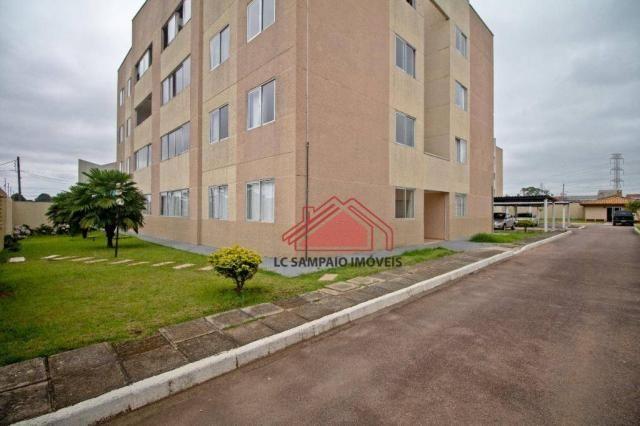 Apartamento com 3 dormitórios à venda, 69 m² por r$ 270.000,00 - santa quitéria - curitiba - Foto 2