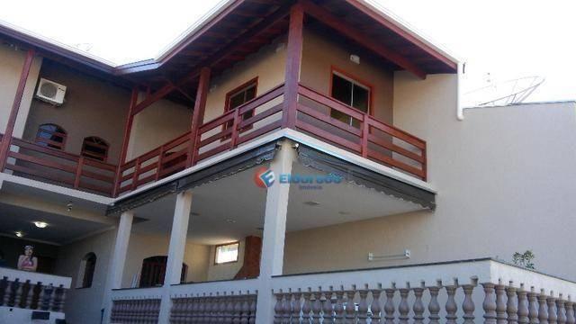 Sobrado com 4 dormitórios à venda, 350 m² por r$ 710.000,00 - jardim santa clara do lago i - Foto 2