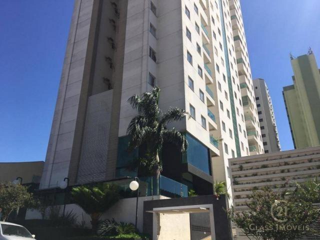 Apartamento com 3 dormitórios à venda, 83 m² por r$ 286.000 - centro - londrina/pr