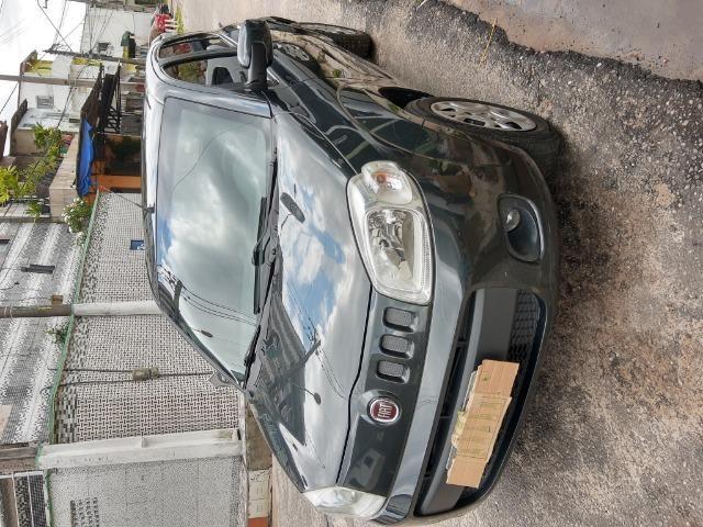 Fiat uno em perfeito estado, licenciamento em dias, sem multas, e dois pneus novos - Foto 11