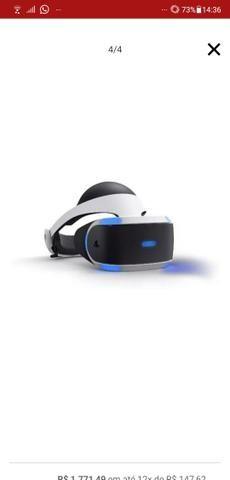Óculos VR + câmera Playstation - Foto 6