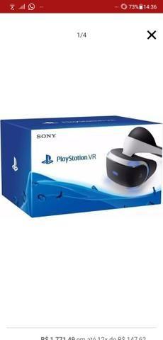 Óculos VR + câmera Playstation - Foto 3