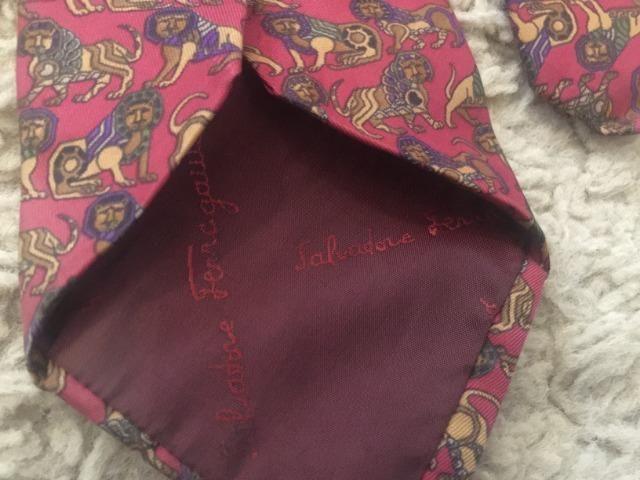 Gravata Salvatore Ferragamo 100% Seda Original Made In Italy Impecável  Zerada Barbada! f8a21659ab