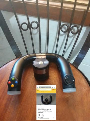 Volante wireless para Xbox 360