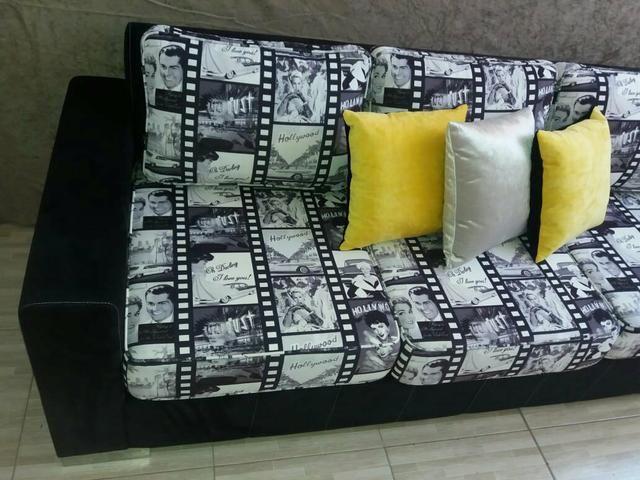 Sofa de três lugares novo sem uso , em Lauro de Freitas