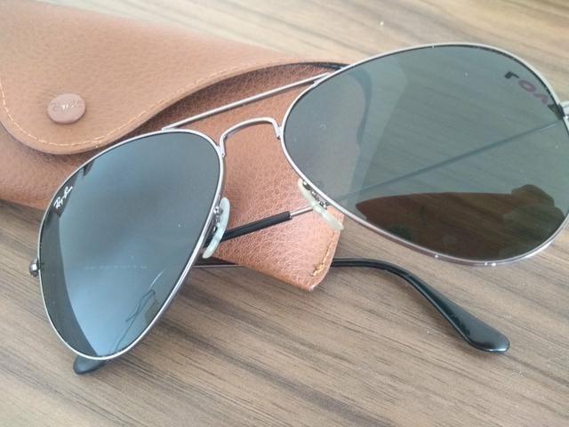 9daba8d19f8f5 Oculos Ray Ban usado Original - Bijouterias, relógios e acessórios ...
