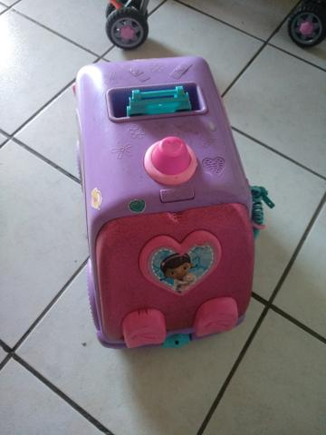 Ambulância importada doutora brinquedo